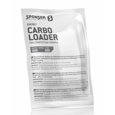 Sponser Carbo Loader italpor, citrus-narancs, 75 g