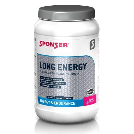 Sponser Long Energy italpor, Berry, 1200 g