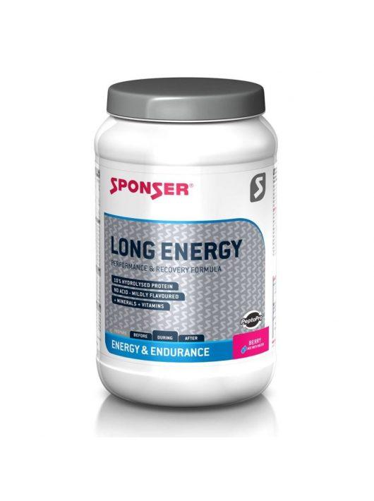 Sponser Long Energy Berry (málna ízű) 10% fehérjével 1200 g