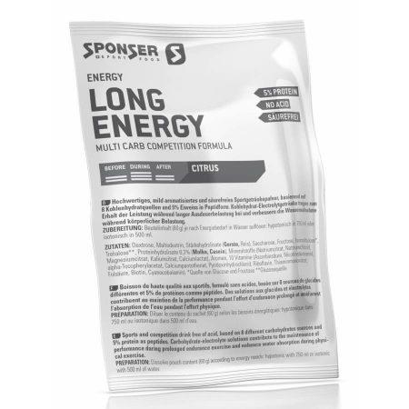 Sponser Long Energy italpor, citrus, 60 g