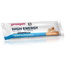 Sponser High Energy szelet, sós mogyoró, 45 g