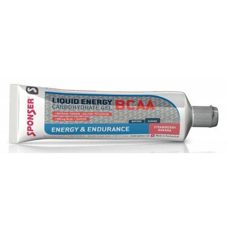 Sponser Liquid Energy BCAA gél, eper-banán, 70 g