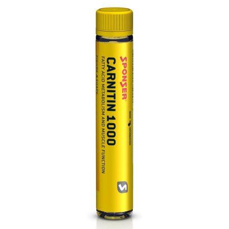 Sponser L-Carnitin 1000 ampulla, 25 ml