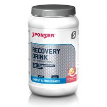 Sponser Recovery Drink italpor, eper-banán, 1200 g