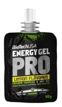 BioTech USA Energy Gel PRO, citrom, 60 g