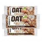 BioTech USA Oat&Nuts zabszelet, dió-pekándió, 70 g