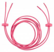 Ronhill Elastic Shoe Laces Pink 36 inch