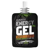BioTech USA Energy Gel, narancs 60 g
