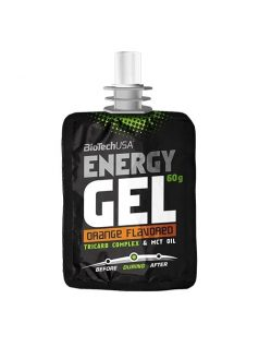 BioTech USA Energy Gel, narancs 60 g
