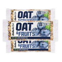 BioTech USA Oat&Fruits zabszelet, áfonya, 70 g